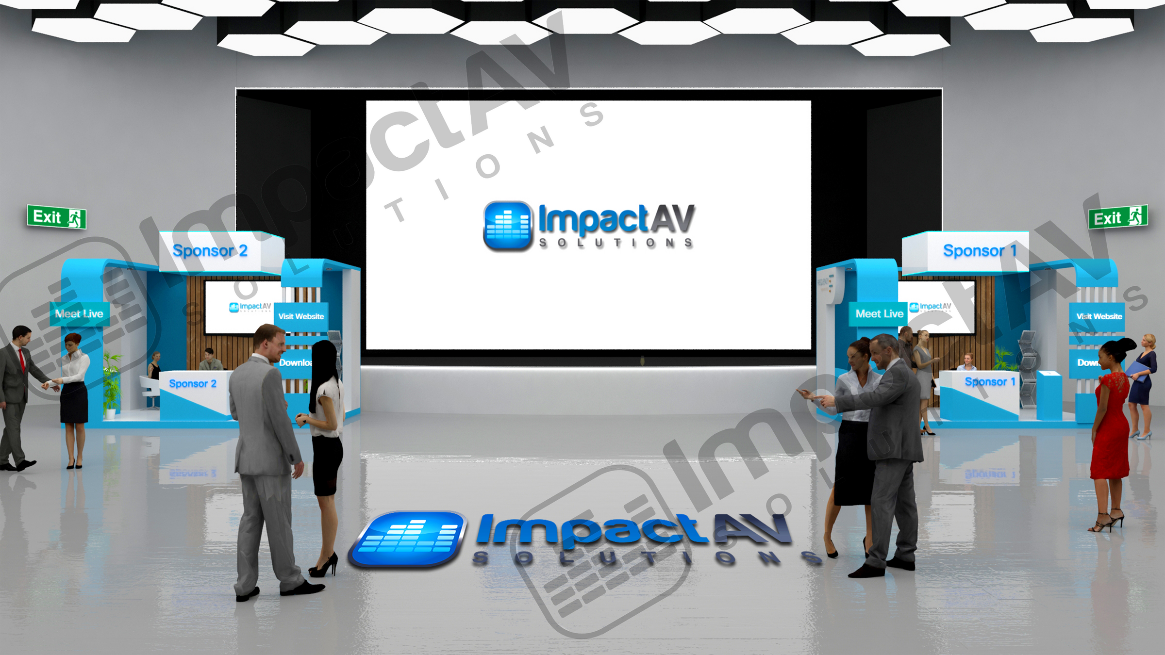 Impact AV Exhibition Hall