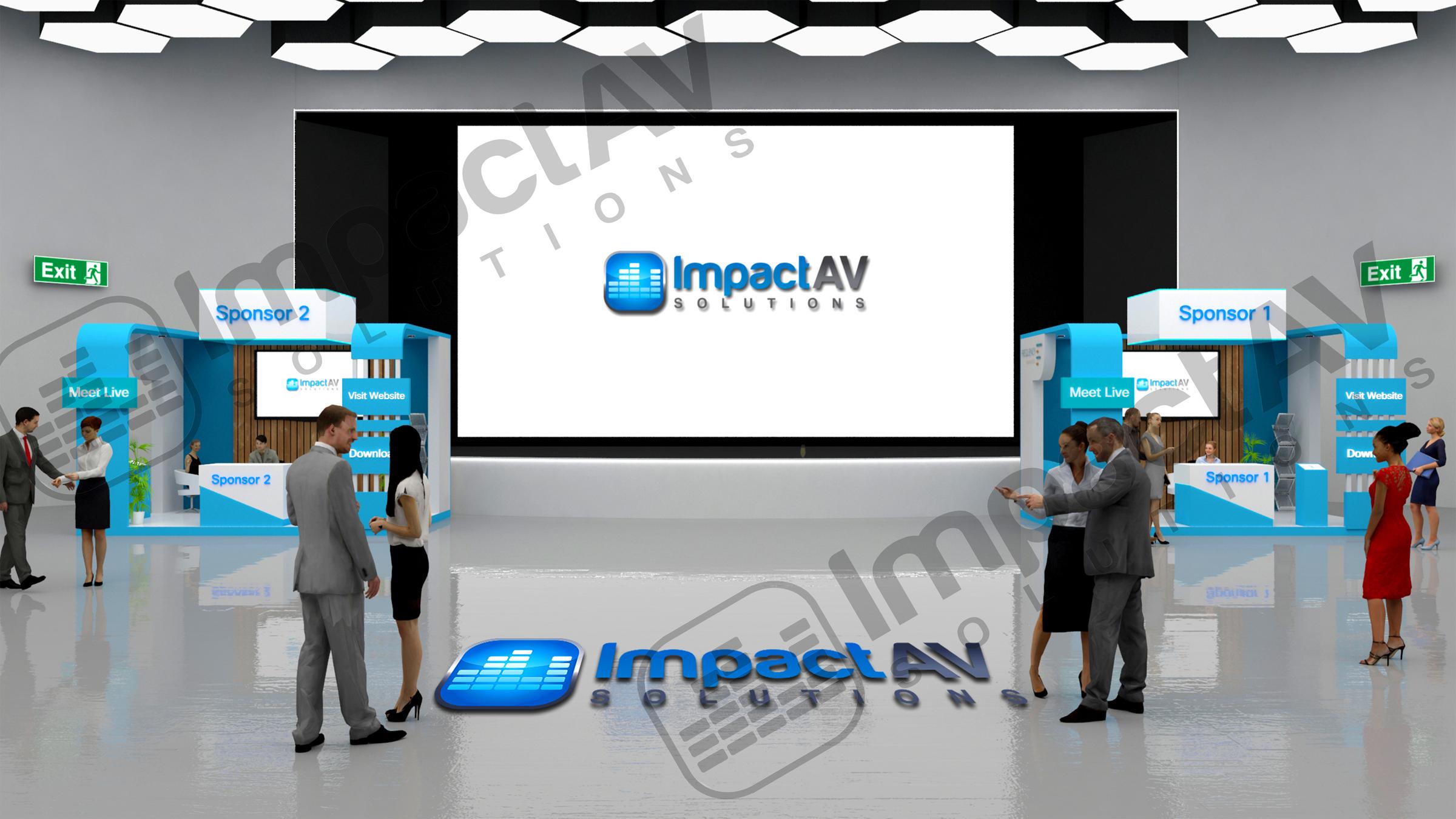 Impact AV Exhibition Hall