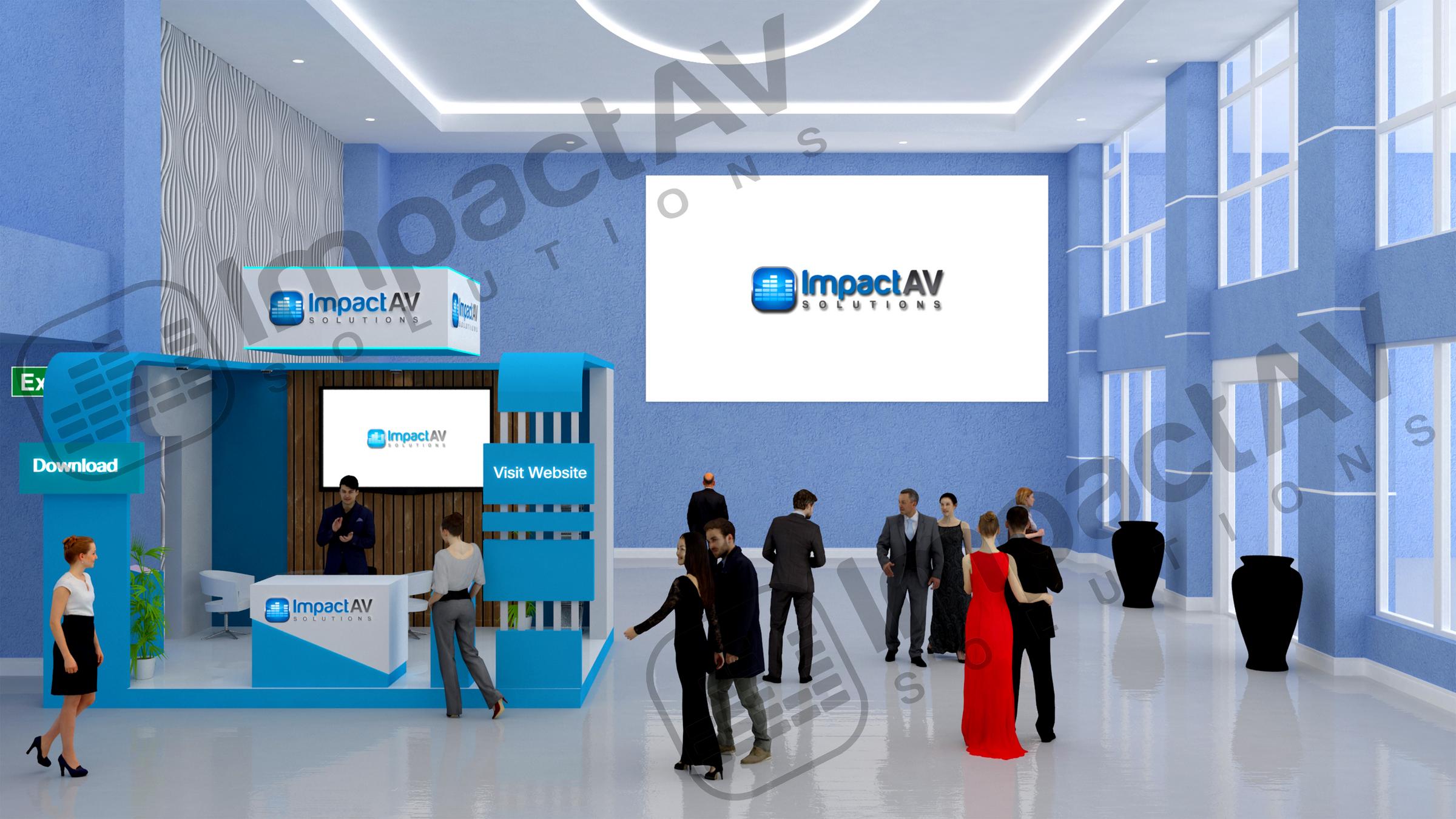 Impact AV Sponsor Hall