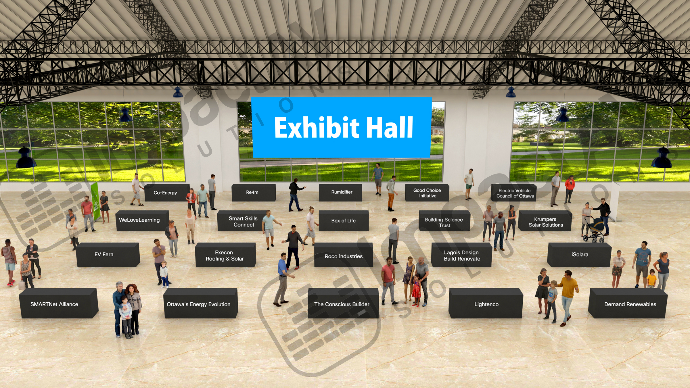 SNA Exhibition Hall
